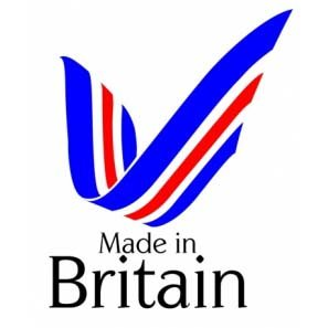 Made in Britain logo by Stoves