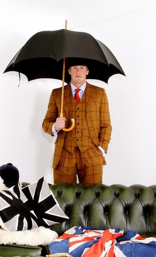 Holland Cooper Tweed Suit in Gingerbread