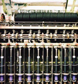 Weaving Harris tweed