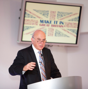 Make it in Great Britain launch with Vince Cable