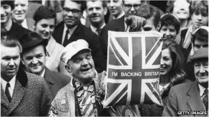 The 'I'm backing Britain campaign from the '60's'