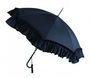 Fox Ladies Deep Frill Umbrella