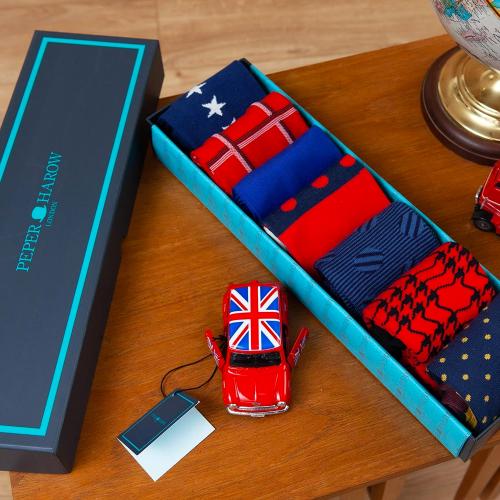 Peper Harow sock sets, UK-made gifts