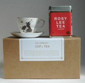 Rosy Lee Tea Cup and Tea