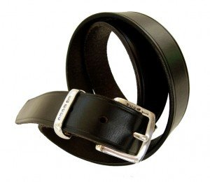 An English Hand Leather Belt