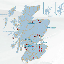Scottish Textiles on the map
