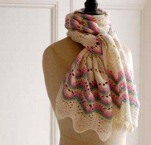 Kate Samphier cockleshell scarf