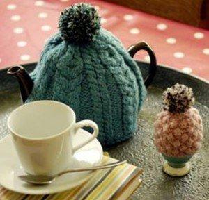 Kate Samphier tea & egg cosies