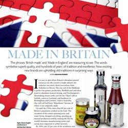 Feature on British craftsmanship in Britain Magazine