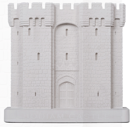 Bodiam Castle Architectural Model By Chisel & Mouse