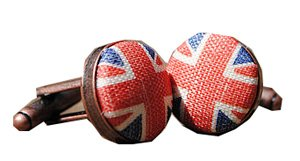 Union Jack Cufflinks by Joanna Parkin