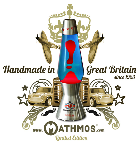 Mathmos Jubilee Astro Lava Lamp