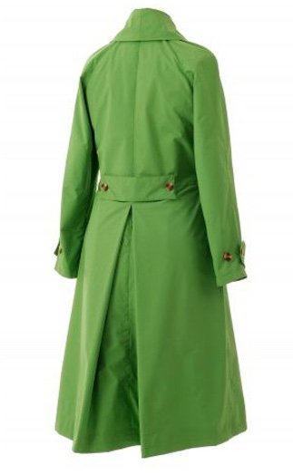 Cambridge Raincoat in Vibrant Green