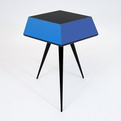 Cube 1 table by Rockman & Rockman