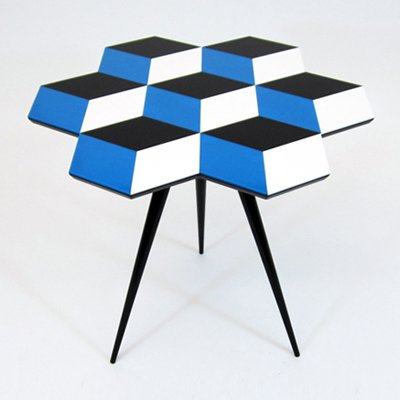 Cube 7 table by Rockman & Rockman