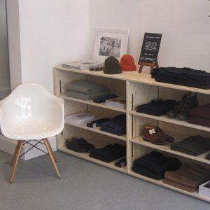 Private White VC Covent Garden pop up store