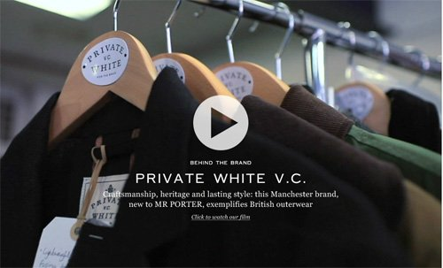 British heritage brand Private White V.C.