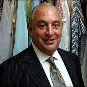 Sir Philip Green UK manufacturing