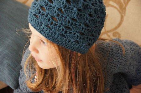 Brit Chic crochet hat