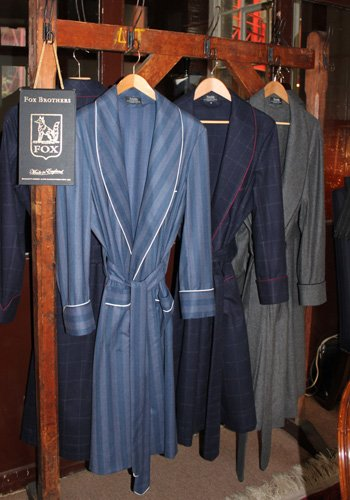 Luxurious dressing gowns from the Merchant Fox