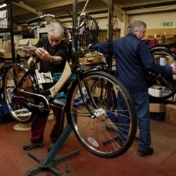 British bikes being made at the Pashley factory