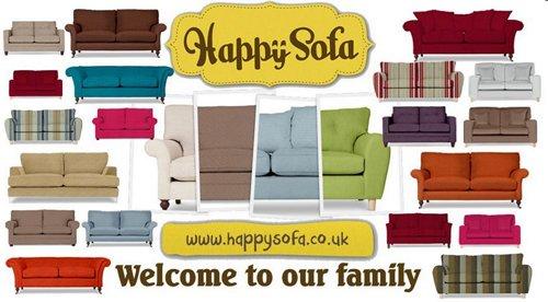 A Happy Sofa is a British sofa