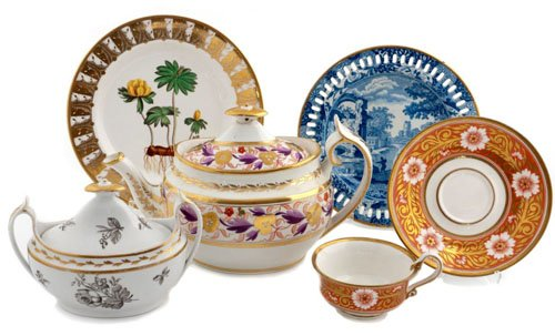 Spode Pottery. Founded in 1770 in Stoke-on-Trent