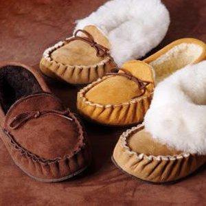 Sheepland sheepskin slippers