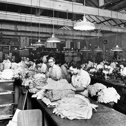 Sunspel Factory in Long Eaten Notts Photo: Sunspel