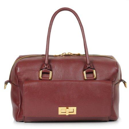 BoBelle London's Cadogan Bag in Burgundy