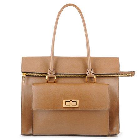 BoBelle London's Fitzrovia Bag in Caramel