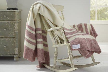 Scarlet Argent Lupton Blanket