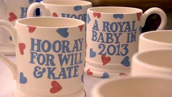 Emma-Bridgewater Royal Baby Souvenirs