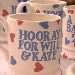 Emma Bridgewater Royal baby