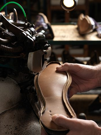 Sole Stitching at Corckett & Jones