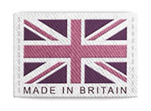 Made in Britain label from Tiffany Rose