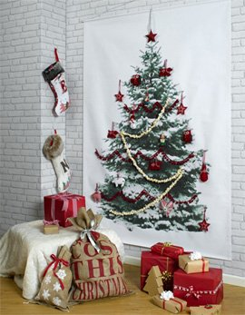 Christmas Tree wall-hanging by Betsy Benn