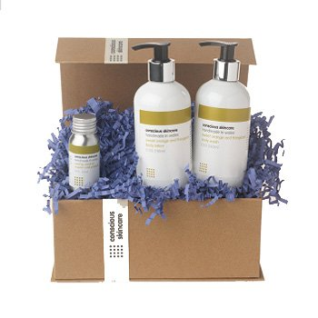 Conscious skincare - Luxury Organic Body Set
