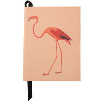 Let it Reign: Flamingo Leather Notebook