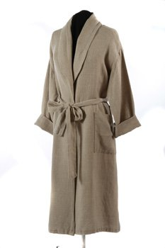 Natural Linen: Dressing Gown