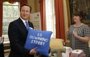 Bob & John's Jonie Worton meeting PM David Cameron