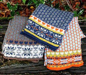 Bob & John Knitted Grandad Scarves