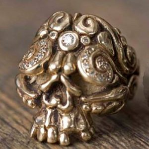 Skull ring by Duffy