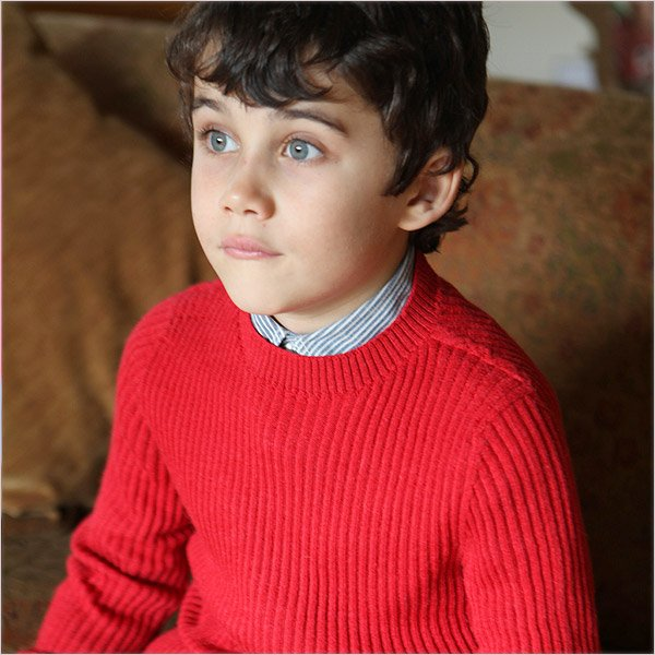 Children's Fisherman Sweater by Plum of London
