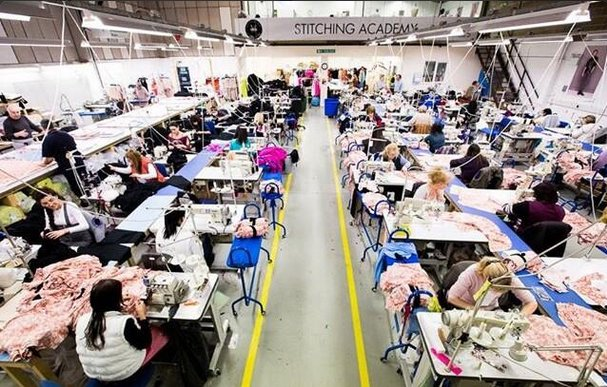 Fashion Enter factory in North London