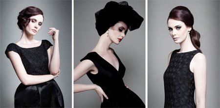 Emma Hunt's Little Black Dress project