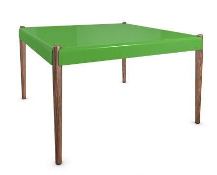 Green Peg Dining Table by Bright Potato - Guaranteed for 8 years