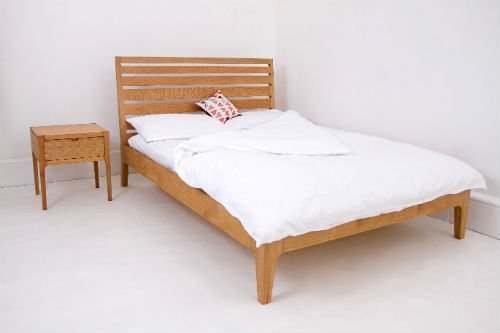 Bridger & Buss oak bed - Guaranteed 8 years