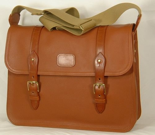 Leather Postman Bag by The Worcestershire Leather Company
