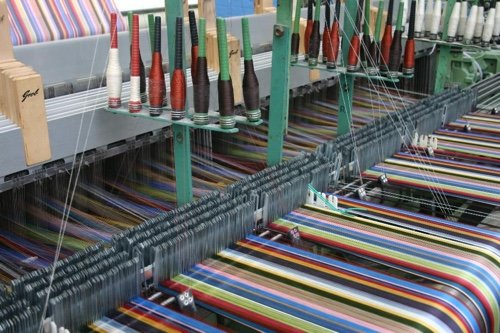 Weaving by Mitchell Interflex at County Brook Mill
